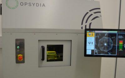Opsydia secures breakthrough laser marking order from diamond giant De Beers