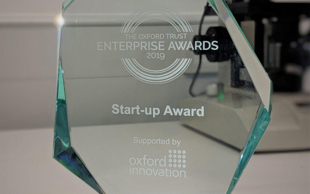 Opsydia wins Oxford Innovation Startup Award at the 2019 Oxford Trust Enterprise Awards